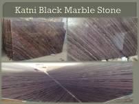 Katni Black Marble Stone